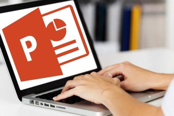 Научу работать в PowerPoint 1 - kwork.ru