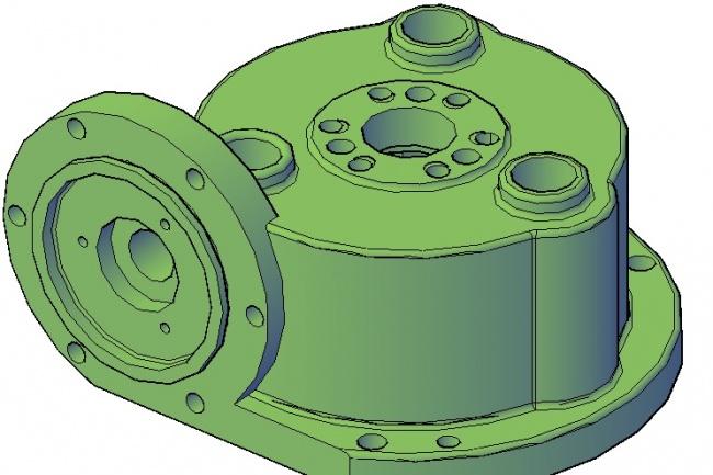 Нарисую 3D модели в AutoCADФлеш и 3D-графика<br>Нарисую 3D модели в AutoCAD по 2D чертежам, детали машин, сложные механизмы, сборка, инструменты, для курсовых работ по компьютерной и инженерной графике.<br>