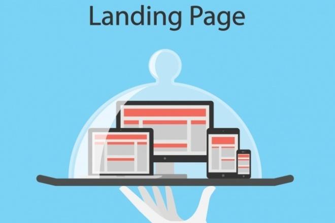 Создам или скопирую Landing page 1 - kwork.ru