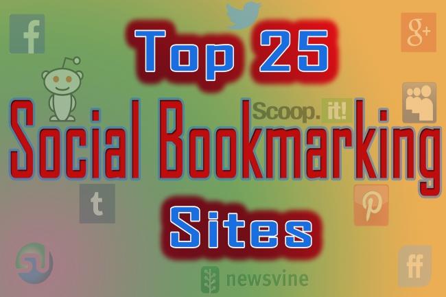 Ручное размещение Вашего сайта в ТОП-25 сайтов социальных закладок 1 - kwork.ru