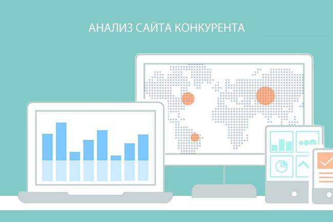 сделаю анализ сайта конкурента 1 - kwork.ru