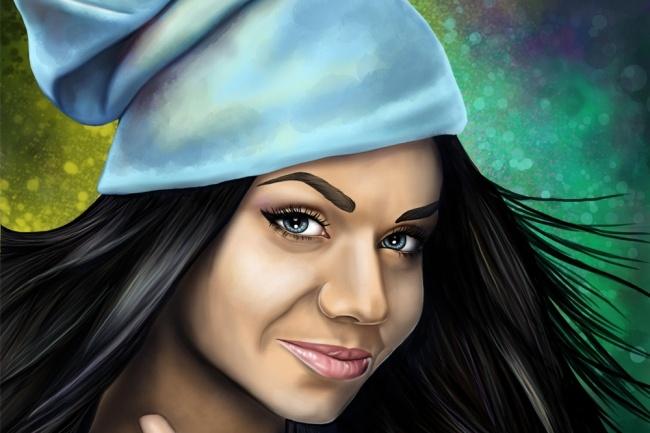 Нарисую CG-портрет по фото 1 - kwork.ru