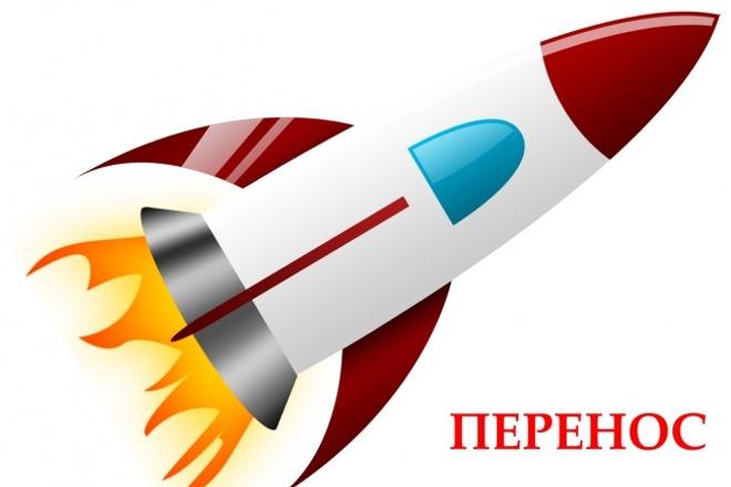 Перенесу сайт на новый Хостинг, Сервер, VPS, VDS 1 - kwork.ru