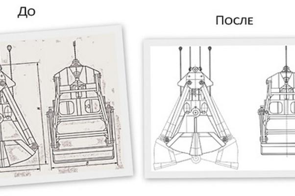 Перерисую в Autocad Ваш чертеж или схему 1 - kwork.ru