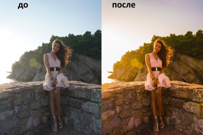 Отредактирую ваше фотоОбработка изображений<br>отредактирую ваше фото, придам ему необходимую атмосферу, Выполню пожелания клиента при работе с фотографией<br>