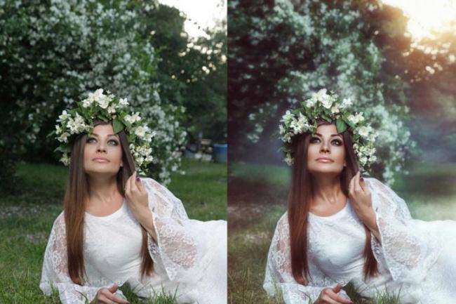 Обработаю ваши фотографии в программе фотошоп 1 - kwork.ru