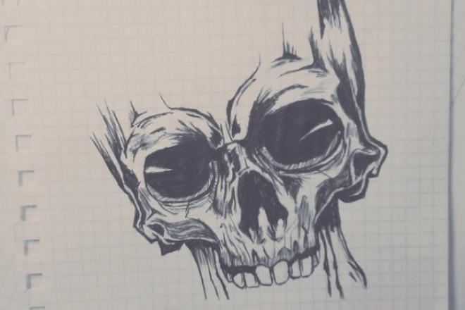 нарисую эскиз для статьи 1 - kwork.ru