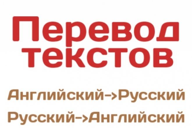 Переведу 3000 символов с/на английский язык 1 - kwork.ru