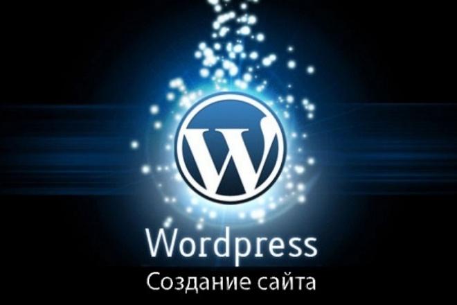 Создание сайта на WordpressСайт под ключ<br>Создание сайта на Wordpress, по Вашему дизайну и техническому заданию. Помощь в приобретении доменного имени и выборе хостинга.<br>