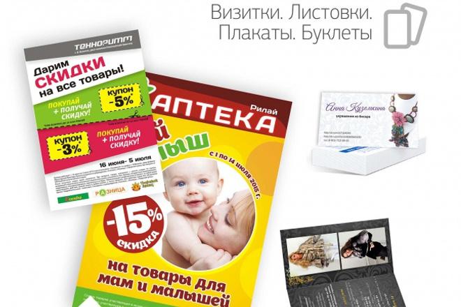 Создам макет плаката 1 - kwork.ru