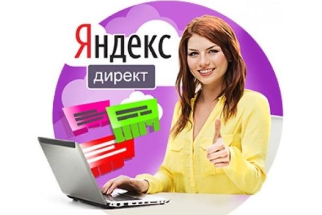 Создам рекламную кампанию в Яндекс Директ на 100 ключей 1 - kwork.ru