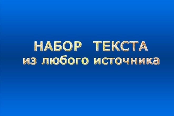 Наберу и оформлю текст.  Перевод речи из аудио или видео в текст 1 - kwork.ru