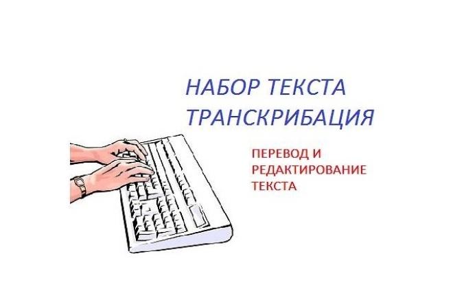 Расшифрую ауио-, видео- записи и переведу их в текст. транскрибацияНабор текста<br>Расшифровка аудио- и видео- записей на русском языке, перевод в печатный вид. Все условия и пожелания будем обсуждать индивидуально! :)<br>
