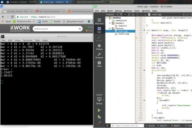 Напишу лабу по программированию на языке С++Программы для ПК<br>Лабораторные работы, либо небольшие программы по объему в один или несколько файлов на языке программирования С++<br>