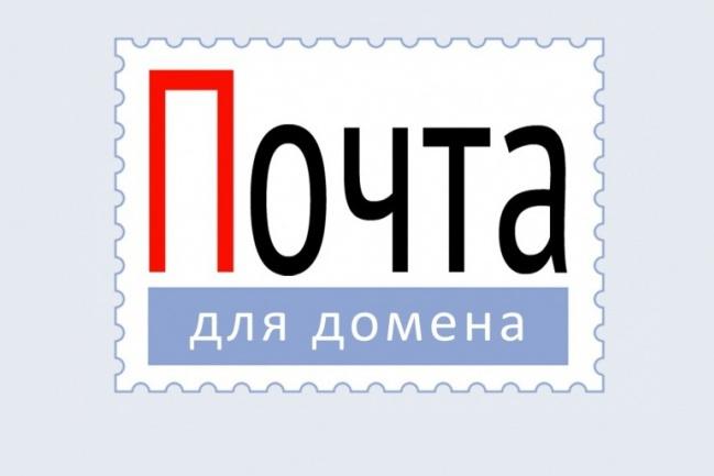 Настрою почту для домена. Зарегистрирую для этого домен в зоне RU 1 - kwork.ru