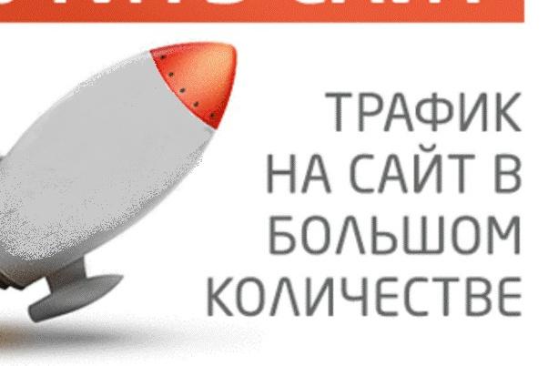 посещения на сайт 1 - kwork.ru