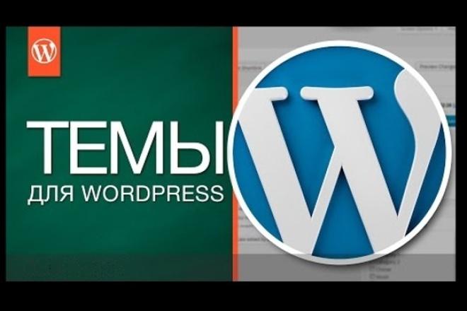 Подберу, Установлю и Настрою любой шаблон на WordPress 1 - kwork.ru