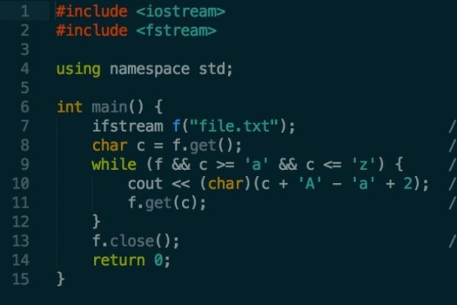 Напишу программу на C/С++, PascalПрограммы для ПК<br>Напишу программу или решу лабу на C/C++, Pascal. Прокомментирую или объясню уже готовый (или свой) код.<br>