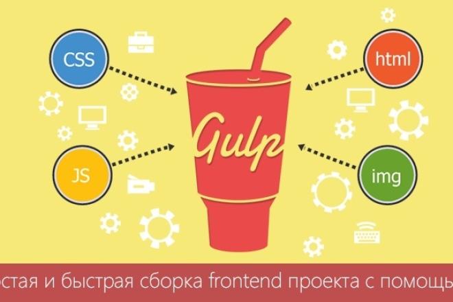 Настрою систему сборки и задач Gulp для вашего проекта 1 - kwork.ru