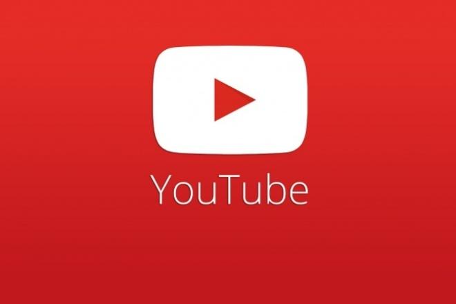 YouTube - Менеджер 1 - kwork.ru