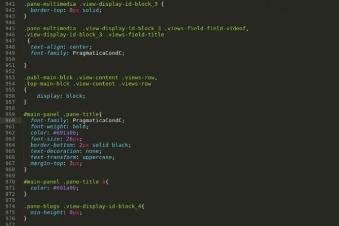 Сделаю правку сайта Drupal (так же можно Joomla, modx Revo) 1 - kwork.ru