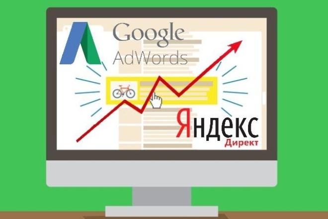 Контекстная реклама google adwords и yandex direct