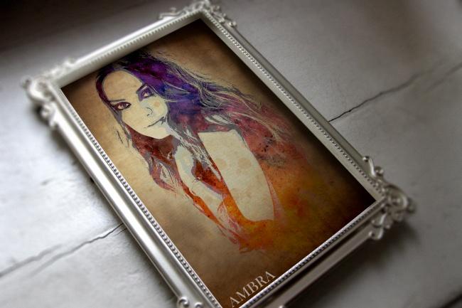 Портрет в стиле ГранжОбработка изображений<br>Сделаю Портрет в стиле гранж на основе Вашей фотографии. Цветовая гамма и прочие элементы портрета выполняются на основе ваших пожеланий.<br>
