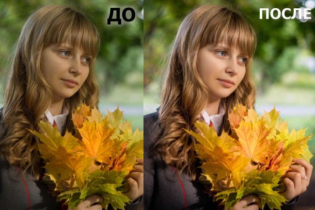 Цветокоррекция, обработка до 20 фотоОбработка изображений<br>Проведу цветокоррекцию и обработку до 20 фотографий, уберу недостатки, по желанию добавлю фильтры к фото.<br>