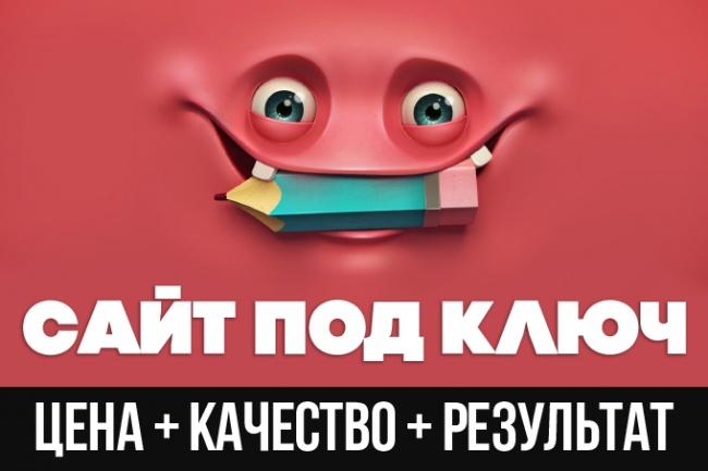 Премиум-сайт под ключ CMS Joomla, Open Cart 1 - kwork.ru