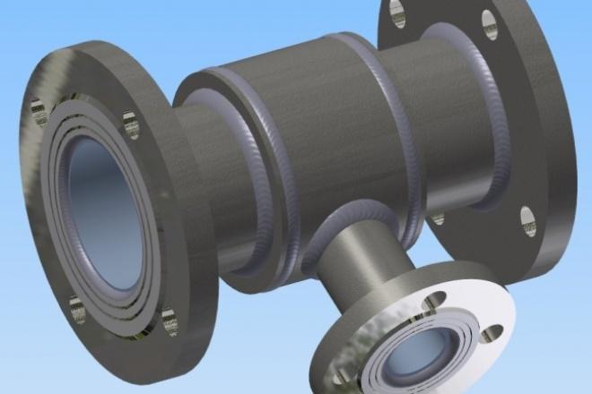 Разработка 3D модели 1 - kwork.ru