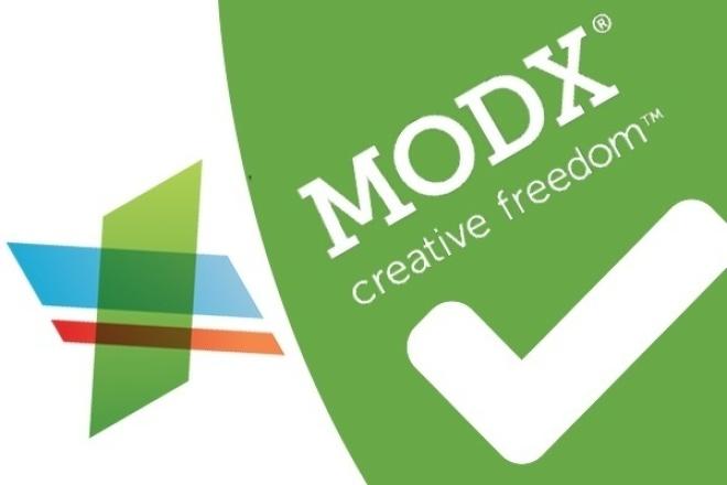 Разработаем сайт на ModX 1 - kwork.ru