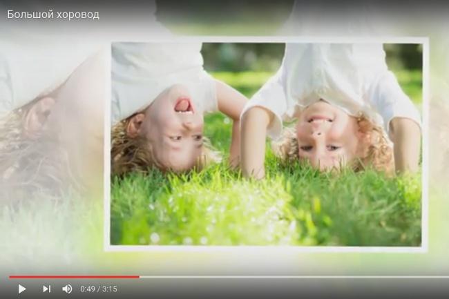 Создам слайд-шоу к выступлениюСлайд-шоу<br>Нужна презентация к танцевальному или вокальному выступлению? Обращайтесь - сделаю! Украсим Ваше выступление оригинальным красочным видеорядом.<br>