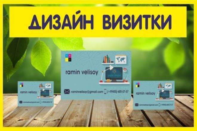 Дизайн ВизиткиВизитки<br>Сделаю вам макет красивой визитки по вашему желанию. Предлагается 1 макет, двухсторонней или 2 макета односторонней визитки, который редактируется до окончательного утверждения.<br>