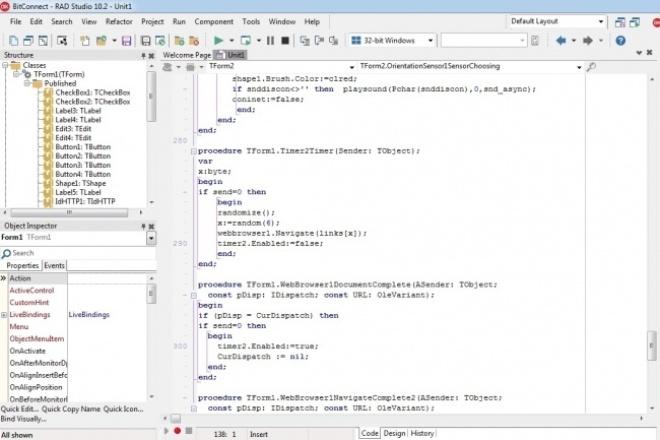Программа на DelphiПрограммы для ПК<br>Напишу программу на Delphi. Работа с MS Acces, Excel, Word, файлы и другое. Предоставлю исходный код.<br>