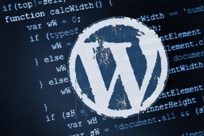 Могу создать шаблон для wordpress 1 - kwork.ru
