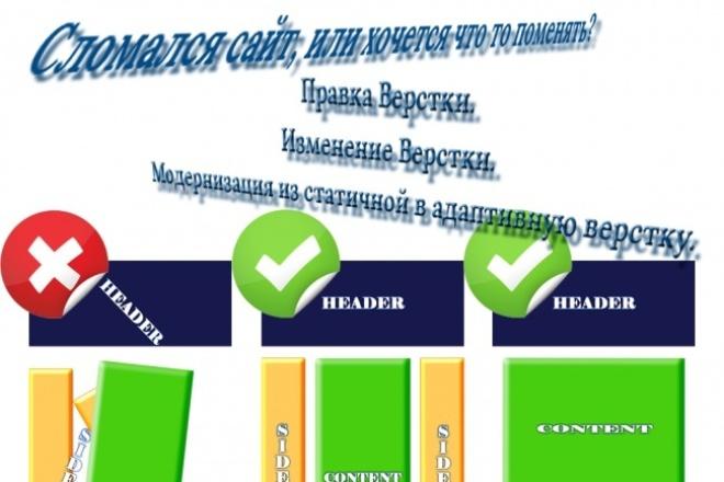 Отремонтирую или модернизирую сайт 1 - kwork.ru