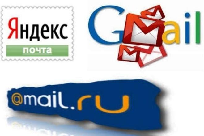Создание и настройка бизнес-почты Gmail, Yandex и Mail.ru 1 - kwork.ru