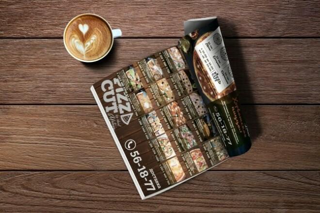 Создам дизайн меню или каталога 1 - kwork.ru