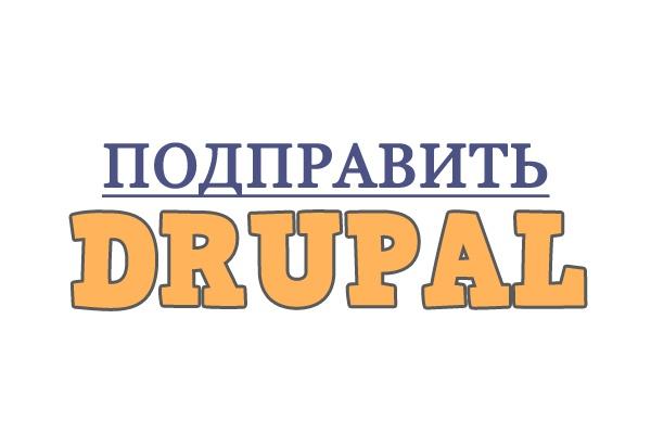 Правки на сайте Drupal 6, 7, 8 1 - kwork.ru