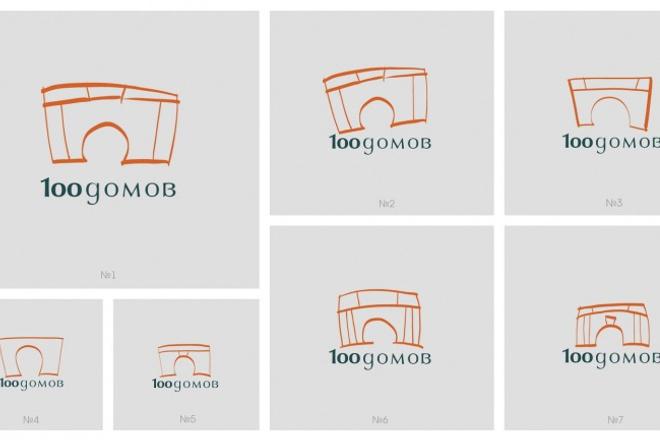 сделаю логотип в 5 вариантах 1 - kwork.ru