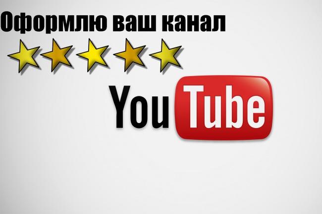 Сделаю полное оформление youtube канала 1 - kwork.ru