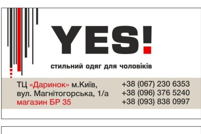 нарисую визитку 1 - kwork.ru
