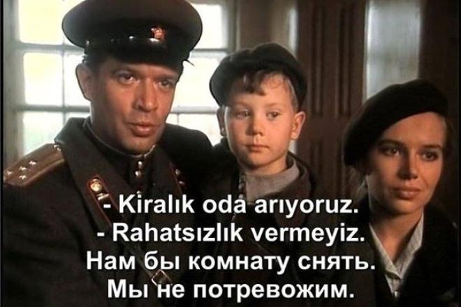 Напишу субтитры к вашему видеофайлу 1 - kwork.ru