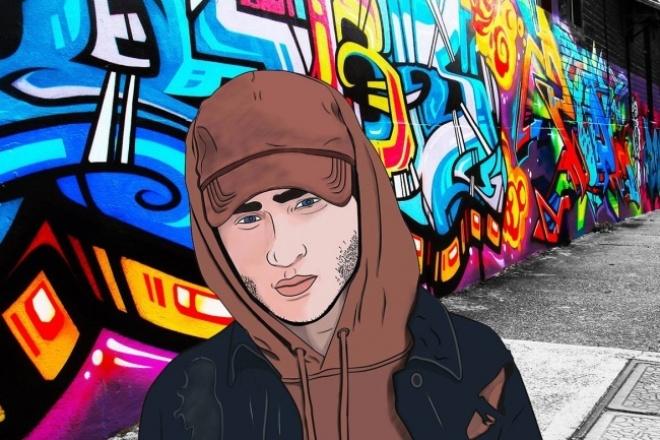Нарисую арт(GTA) 1 - kwork.ru