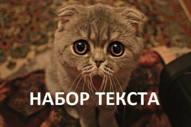 Наберу записи в текст быстро и грамотно 1 - kwork.ru