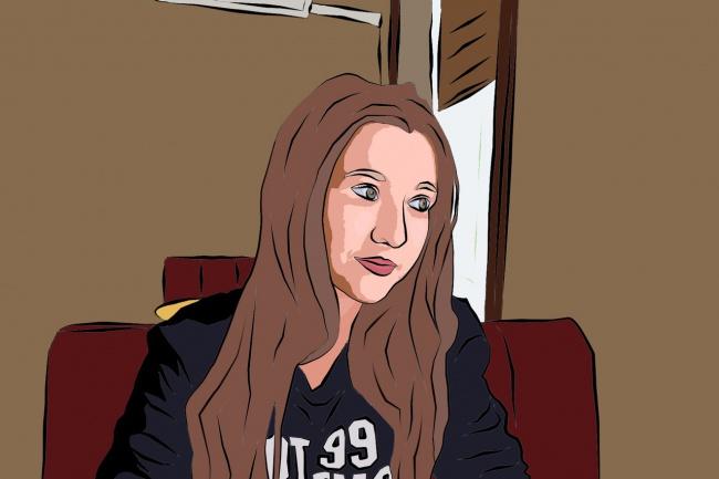 Нарисую векторный портрет 1 - kwork.ru