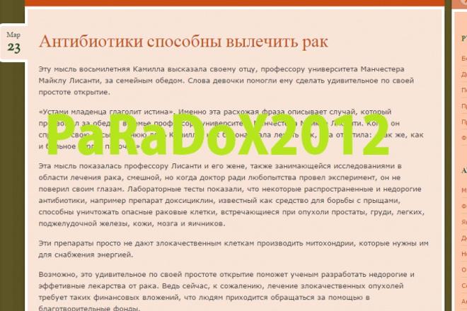 Сайт Фитнес диеты, питание + 800 статей 1 - kwork.ru