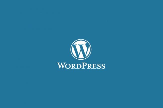 Установлю WordPress и плагины 1 - kwork.ru