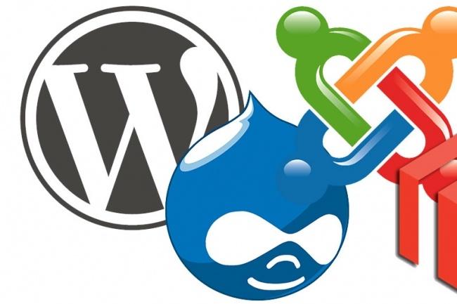Установка на хостинг движков Wordpress, Modx, Opencart и другое 1 - kwork.ru