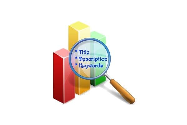 Пропишу теги Title, Description и KeywordsВнутренняя оптимизация<br>Работа по внутренней оптимизации сайта обязательно должна включать в себя создание или редактирование метатегов title, description и keywords, которые являются важными элементами страницы. Они оказывают влияние на формирование сниппета в поисковой выдаче, а также на ранжирование сайта.<br>